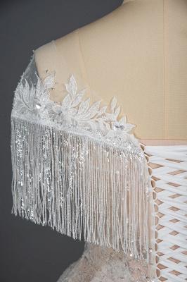 Luxury Brautkleider A Linie | Spitze Hochzeitskleider Günstig_3