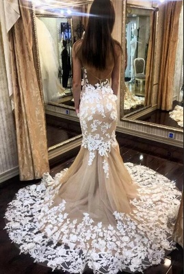 Beautiful mermaid wedding dress | Wedding dresses with lace_3