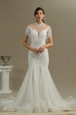 Wunderschöne Hochzeitskleider Meerjungfrau Spitze   Brautkleider Luxus_1