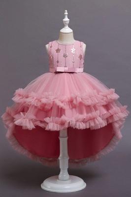 Prinzessin Blumenmädchenkleider Rot | Kinder Kleider zur Hochzeit_1