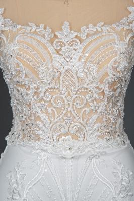 Elegant wedding dresses A line | Buy Glitter Wedding Dresses_8