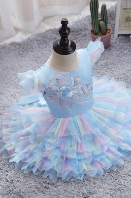 Yellow children's dresses for wedding | Flower girl dresses cheap_3