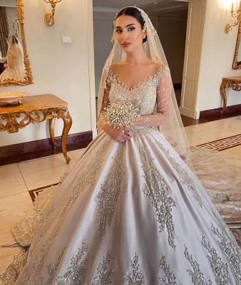 Extravagante Brautkleider Prinzessin | Hochzeitskleider Mit Ärmel_5