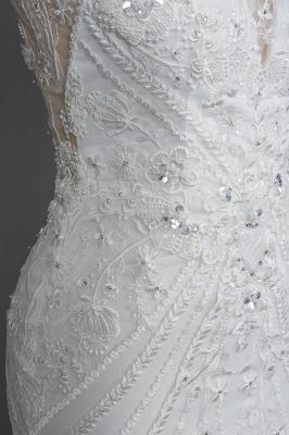 Designer Brautkleid Meerjungfrau Spitze | Hochzeitskleider Günstig Online_9
