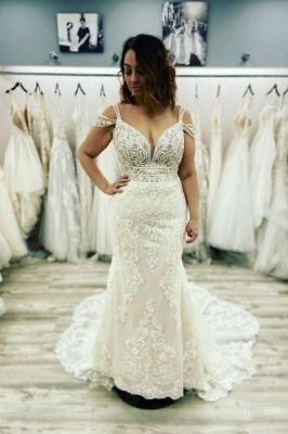 Designer Brautkleid Meerjungfrau Spitze | Hochzeitskleider Günstig_1