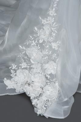 Wunderschöne Hochzeitskleider A Linie | Brautkleider Tüll Günstig_5