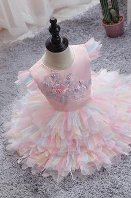 Yellow children's dresses for wedding | Flower girl dresses cheap_1