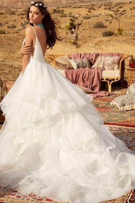 Designer Wedding Dresses Plain | Wedding dresses cheap online_3