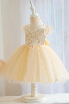 Pink Flower Girl Dresses Cheap | Children's wedding dresses online_4