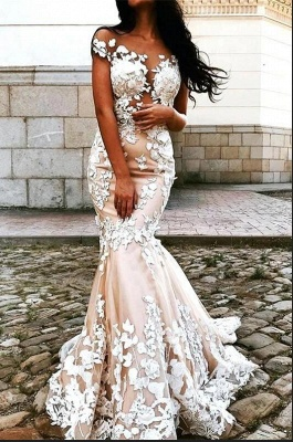 Beautiful mermaid wedding dress | Wedding dresses with lace_2
