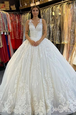 Beautiful bridal wedding dresses | Wedding dresses princess