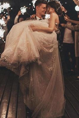 Gorgeous Wedding Dress A Line Lace | Wedding dresses tulle_10