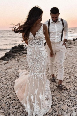 Designer wedding dresses mermaid | Wedding dresses lace_1