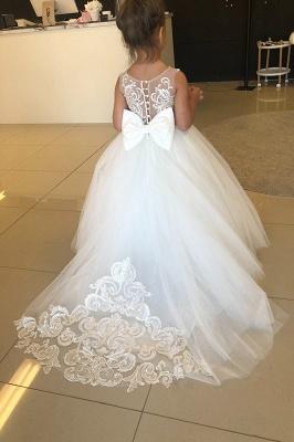 Wunderschöne Blumenmädchenkleider Elfenbein Kinder Hochzeitskleider