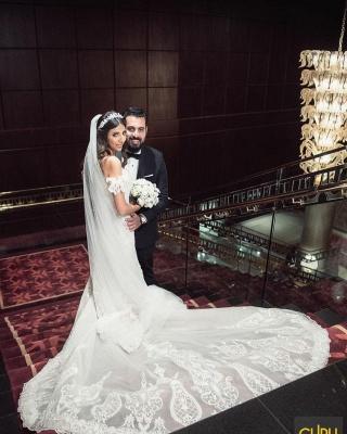 Beautiful mermaid lace mermaid dresses | Cheap Wedding Dresses Online_2
