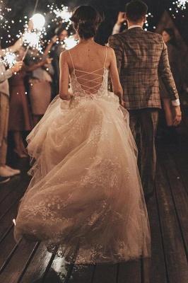 Gorgeous Wedding Dress A Line Lace | Wedding dresses tulle_3