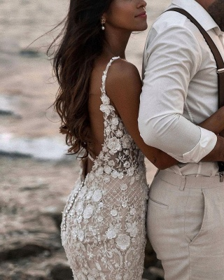 Designer wedding dresses mermaid | Wedding dresses lace_6