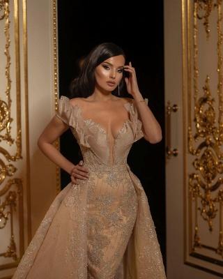 Designer Umstandsmode Brautkleid | Hochzeitskleider A Linie Spitze_3