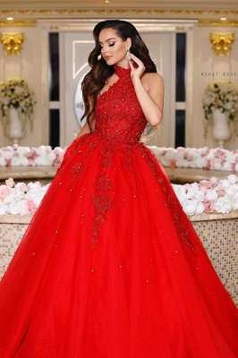 Ball gowns red | Evening dresses long lace