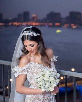 Beautiful mermaid lace mermaid dresses | Cheap Wedding Dresses Online_3
