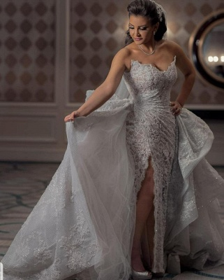 Luxury Wedding Dresses A Line Lace | Gorgeous Wedding Dresses Online_3