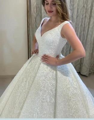 Schöne Brautkleider Prinzessin Online | Hochzeitskleider mit Spitze_4