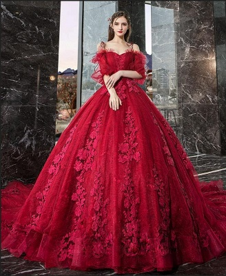 Gorgeous evening dresses with lace | Prom dresses prom dresses red_2