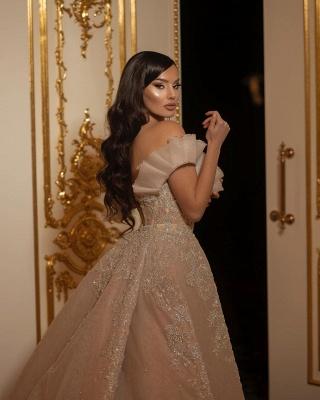 Designer Umstandsmode Brautkleid | Hochzeitskleider A Linie Spitze_4