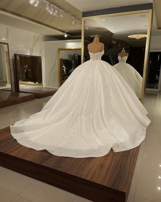 Extravagnate Brautkleider Online | Hochzeitskleider Glitzer Prinzessin_2
