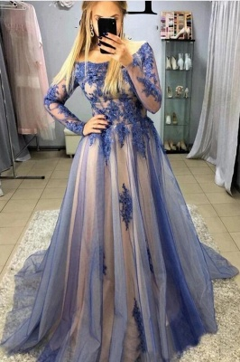 Beautiful evening dresses with sleeves | Evening dress long cheap
