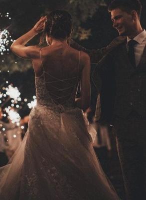 Gorgeous Wedding Dress A Line Lace | Wedding dresses tulle_5