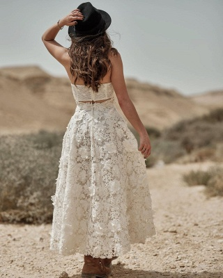 Wedding dress registry office short | Wedding dresses lace cheap_2
