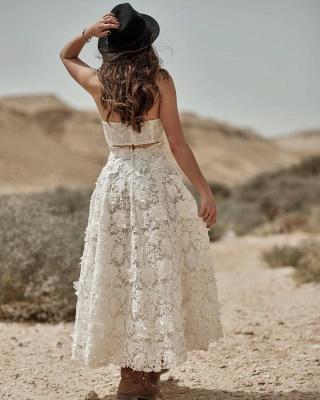 Brautkleid Standesamt Kurz | Hochzeitskleider Spitze Günstig_2