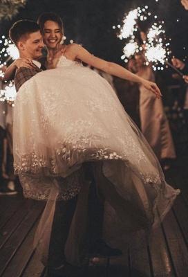 Gorgeous Wedding Dress A Line Lace | Wedding dresses tulle_7
