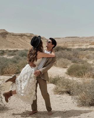 Brautkleid Standesamt Kurz | Hochzeitskleider Spitze Günstig_3