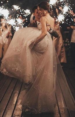 Gorgeous Wedding Dress A Line Lace | Wedding dresses tulle_6