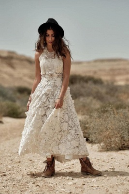 Wedding dress registry office short | Wedding dresses lace cheap_1