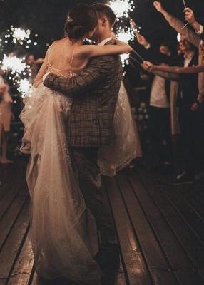 Gorgeous Wedding Dress A Line Lace | Wedding dresses tulle_8