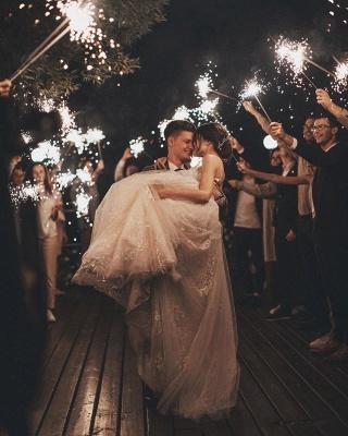 Gorgeous Wedding Dress A Line Lace | Wedding dresses tulle_9