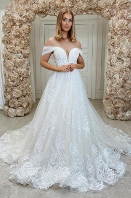 Sparkly A Linie Lace Wedding Gowns Cheap Wedding Dresses