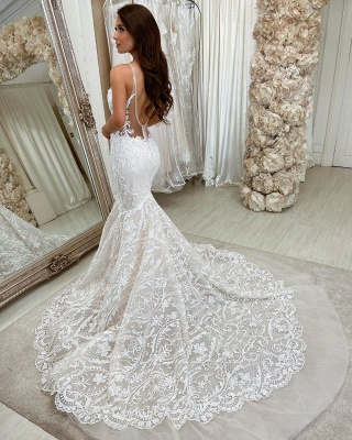 Beautiful mermaid wedding dresses | Wedding dresses lace_2