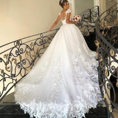 Designer Brautkleider A Linie Spitze | Hochzeitskleider Günstig_2
