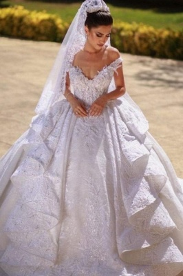 Beautiful wedding dresses A line lace | Wedding dresses cheap