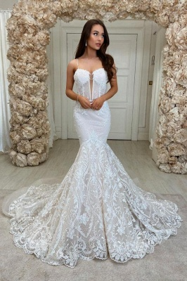 Beautiful mermaid wedding dresses | Wedding dresses lace