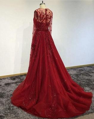 Designer Evening Dresses Long Red | Prom dresses with glitter_2