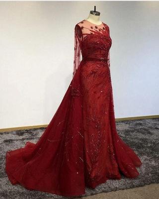 Designer Evening Dresses Long Red | Prom dresses with glitter_3