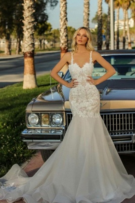 Cheap Mermaid Lace Wedding Dresses | Wedding Gowns Onlne