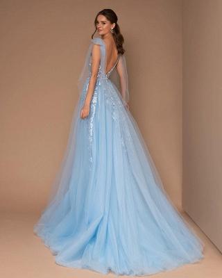 Light blue evening dresses long | Evening wear online_2
