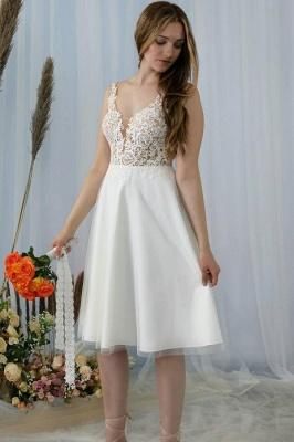 Schlichtes Brautkleid Mit Spitze | Hochzeitskleider Kurz