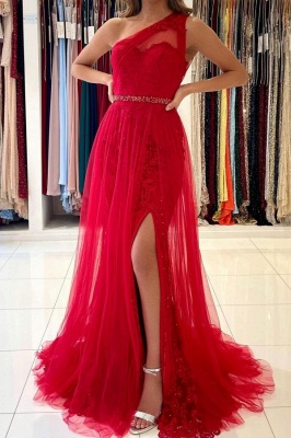 Red Evening Dresses Long Cheap | Lace prom dresses